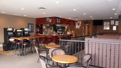 Capital Pizza Belle Rive - lounge interior